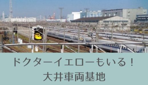 ドクターイエローもいる!新幹線がたくさん集まる大井車両基地を見てきた