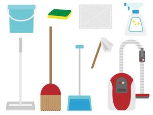 色々な掃除道具