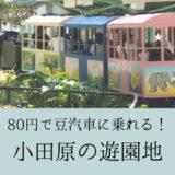 安い!こども大満足! 小田原城址公園こども遊園地へ行ってきた