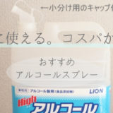 除菌・掃除・殺虫に便利!おすすめのアルコールスプレー