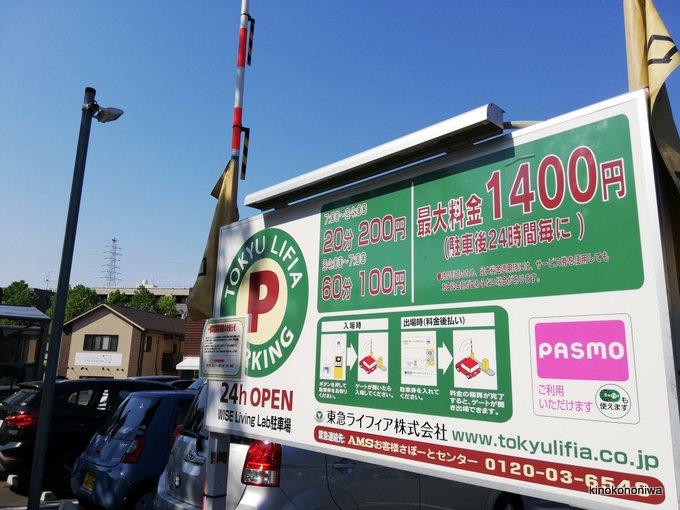 さんかくBASE駐車場