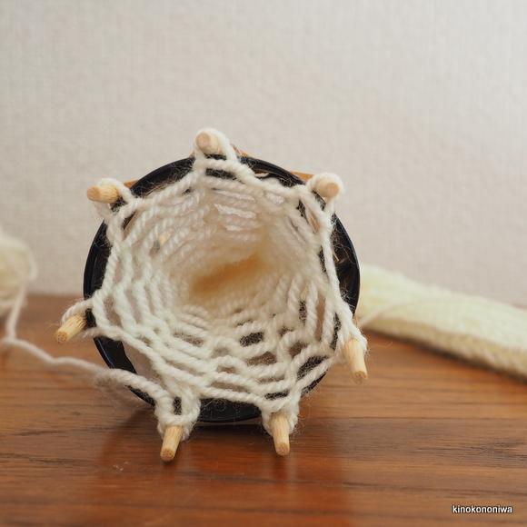 子供でもできる編み物
