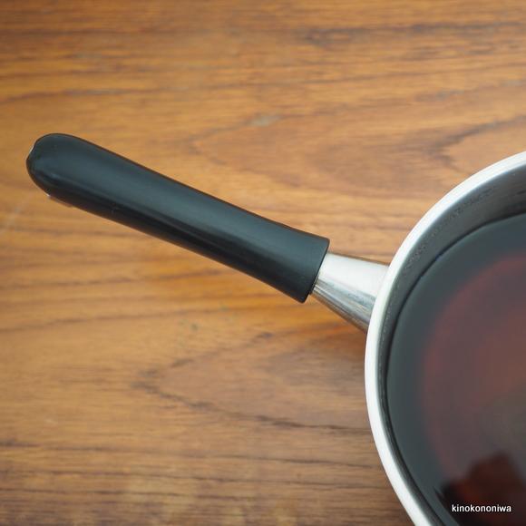 柳宗理の片手鍋