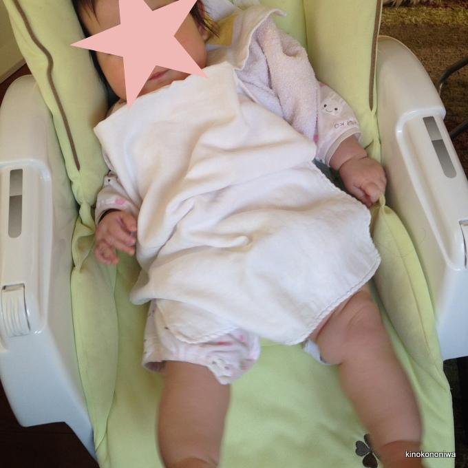 離乳食開始時の椅子