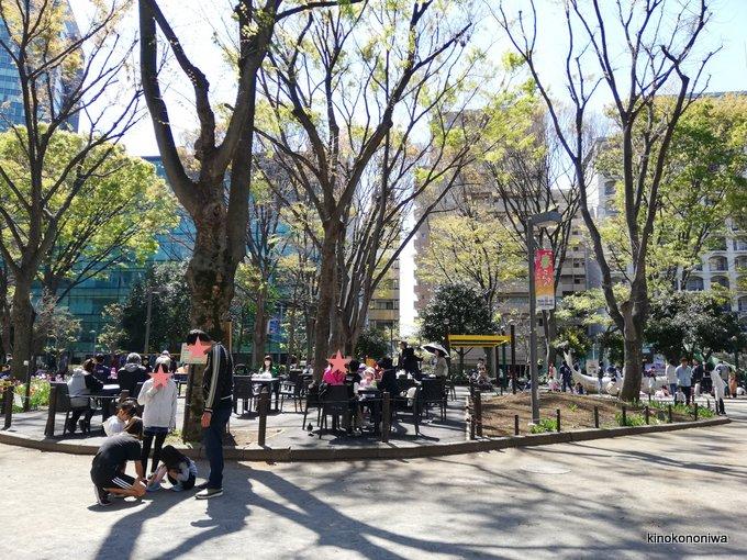 新宿中央公園休憩所