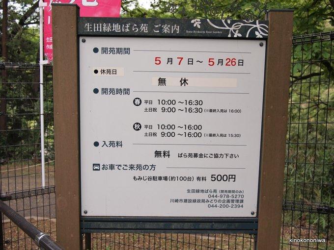 2019年春 生田緑地ばら苑