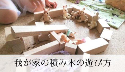 創造力やバランス感覚をやしなう 我が家の積み木の遊び方