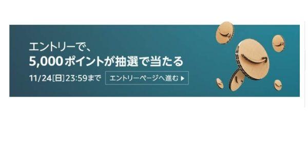 Amazonキャンペーンーページ