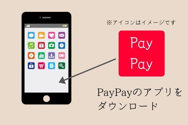 paypayアプリをダウンロード