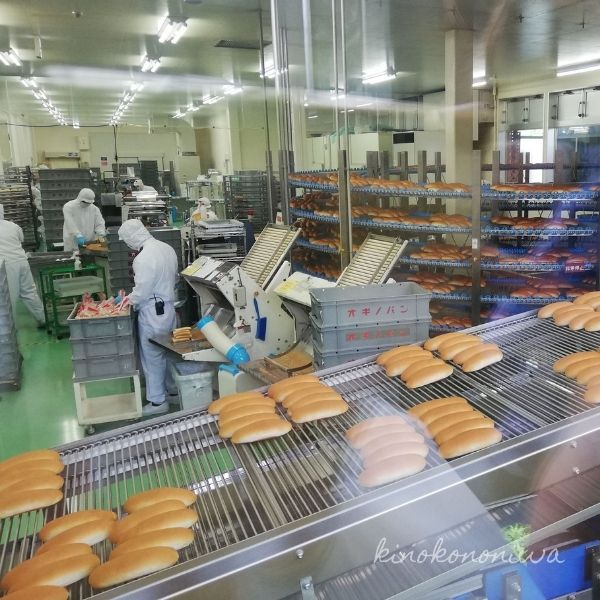 オギノパン工場