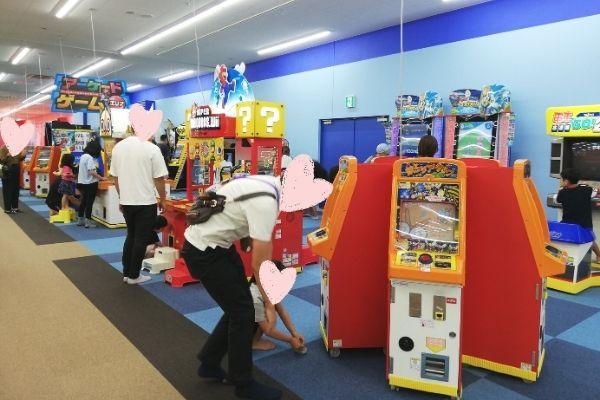 ファンタジーキッズリゾートのゲームコーナー