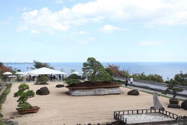 アカオハーブ&ローズガーデン 日本庭園