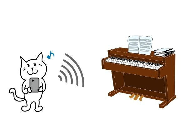 電子ピアノ6