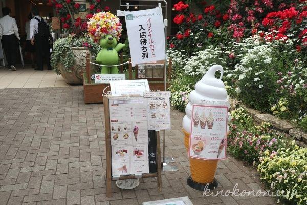 横浜イングリッシュガーデン春バラのカフェ