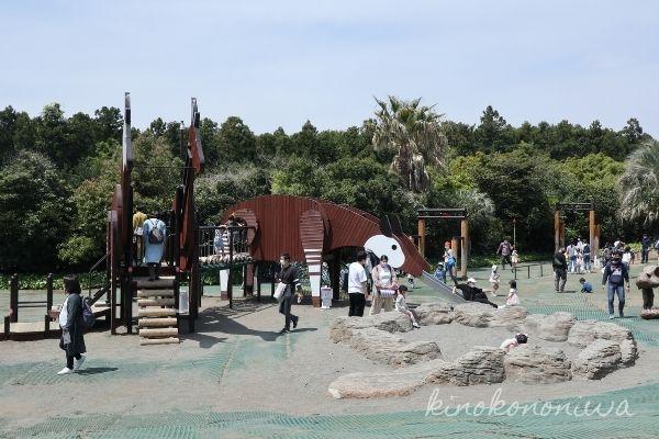 よこはま動物園ズーラシアわくわく広場