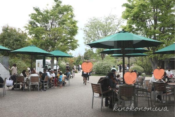 よこはま動物園ズーラシアサバンナテラス